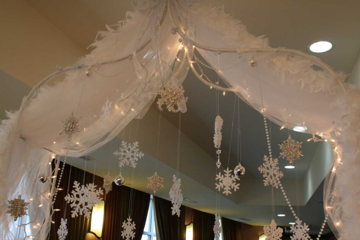 Winter Wedding Decorations New Ideas Snowflake Wedding Decorations With Winter Wedding Winter