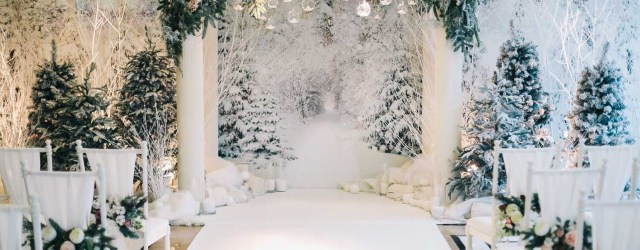 Winter Wedding Decorations Winter Wedding Decor Stunning Ceremony Arch Fairy Forest Within