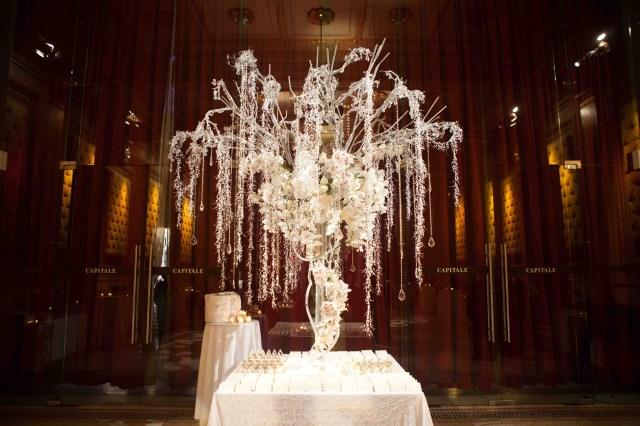 Winter Wedding Decorations Winter Wedding Ideas Birch Bark Details Branch Dcor Inside