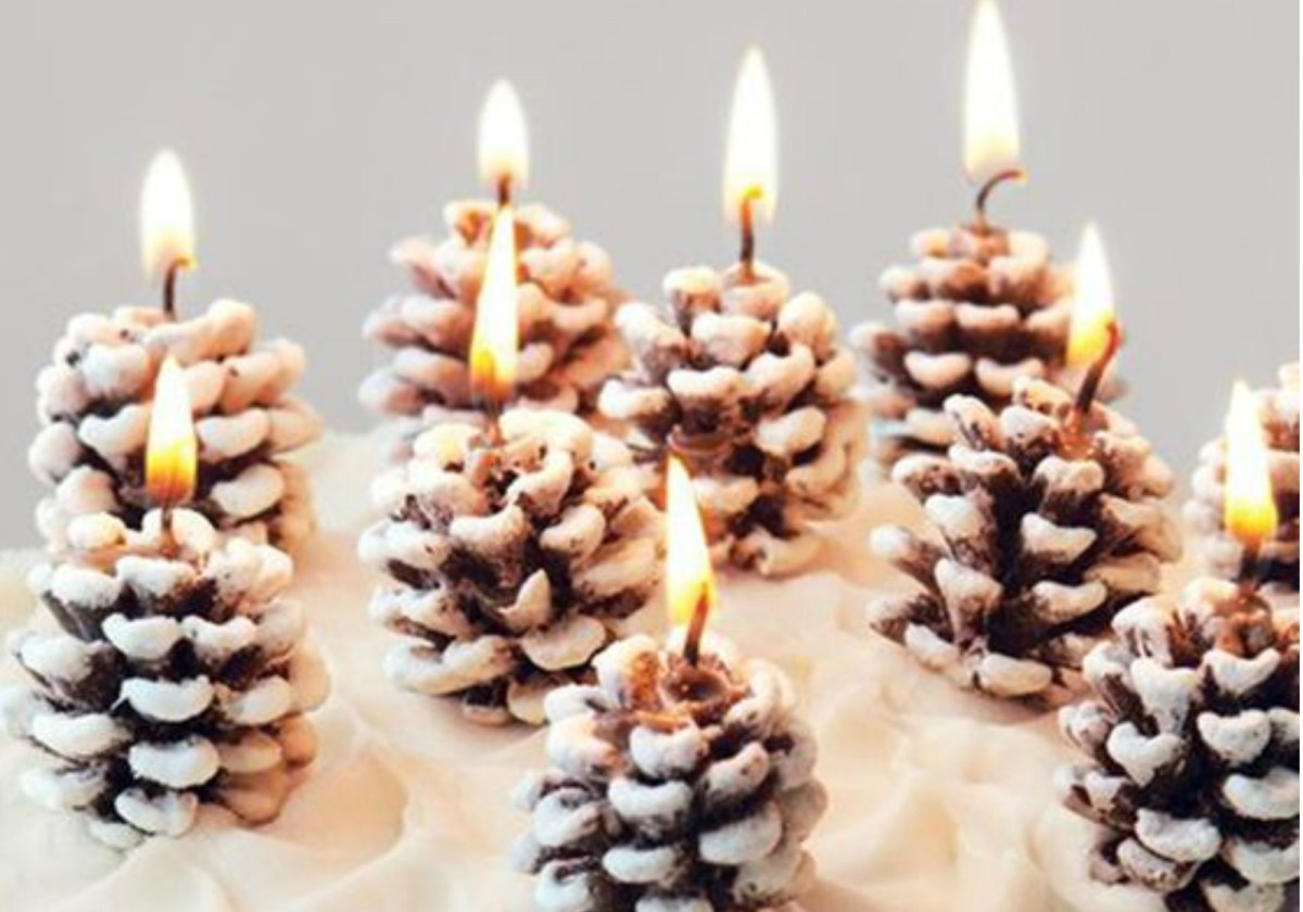 Winter Wedding Diy 11 Ways To Use The Pine Cone In Your Winter Wedding Decor Diy