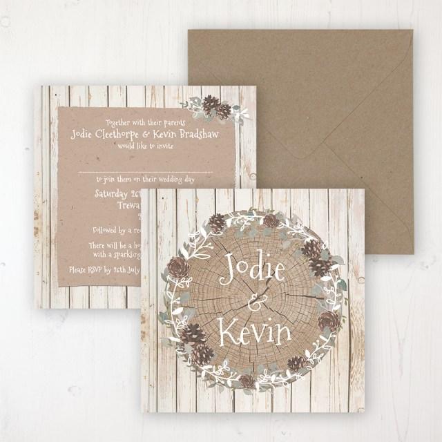 Woodland Wedding Invitations Wild Woodland Wedding Invitations Sarah Wants Stationery