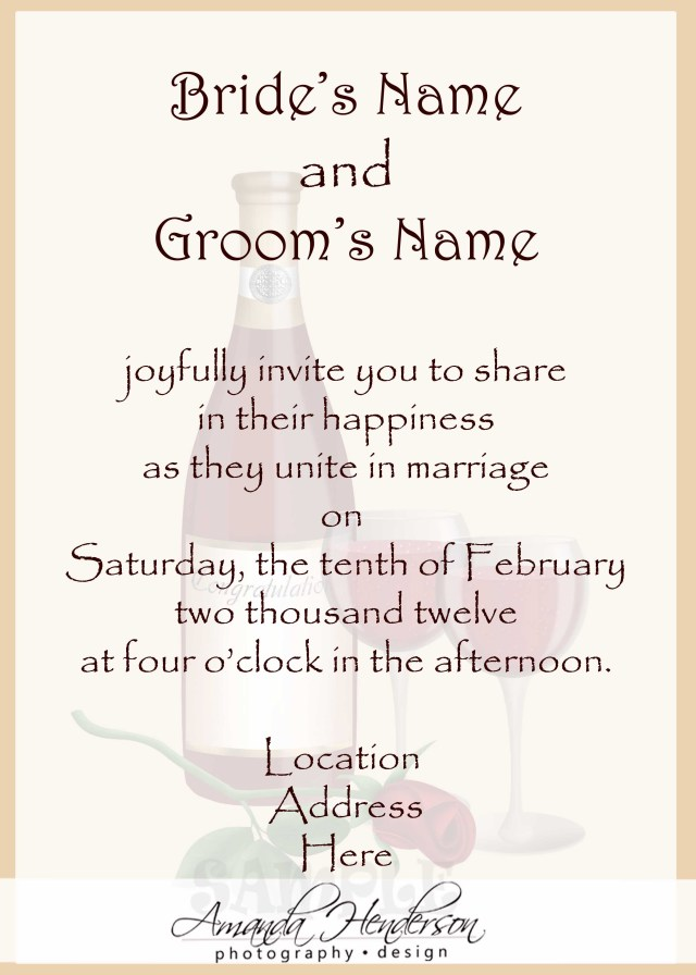 Wording Wedding Invitations Wedding Invitation Wording Samples 21st Bridal World Wedding