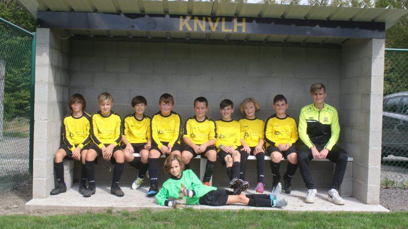 U12 A Lozenhoek Keerbergen speelt al jaren samen