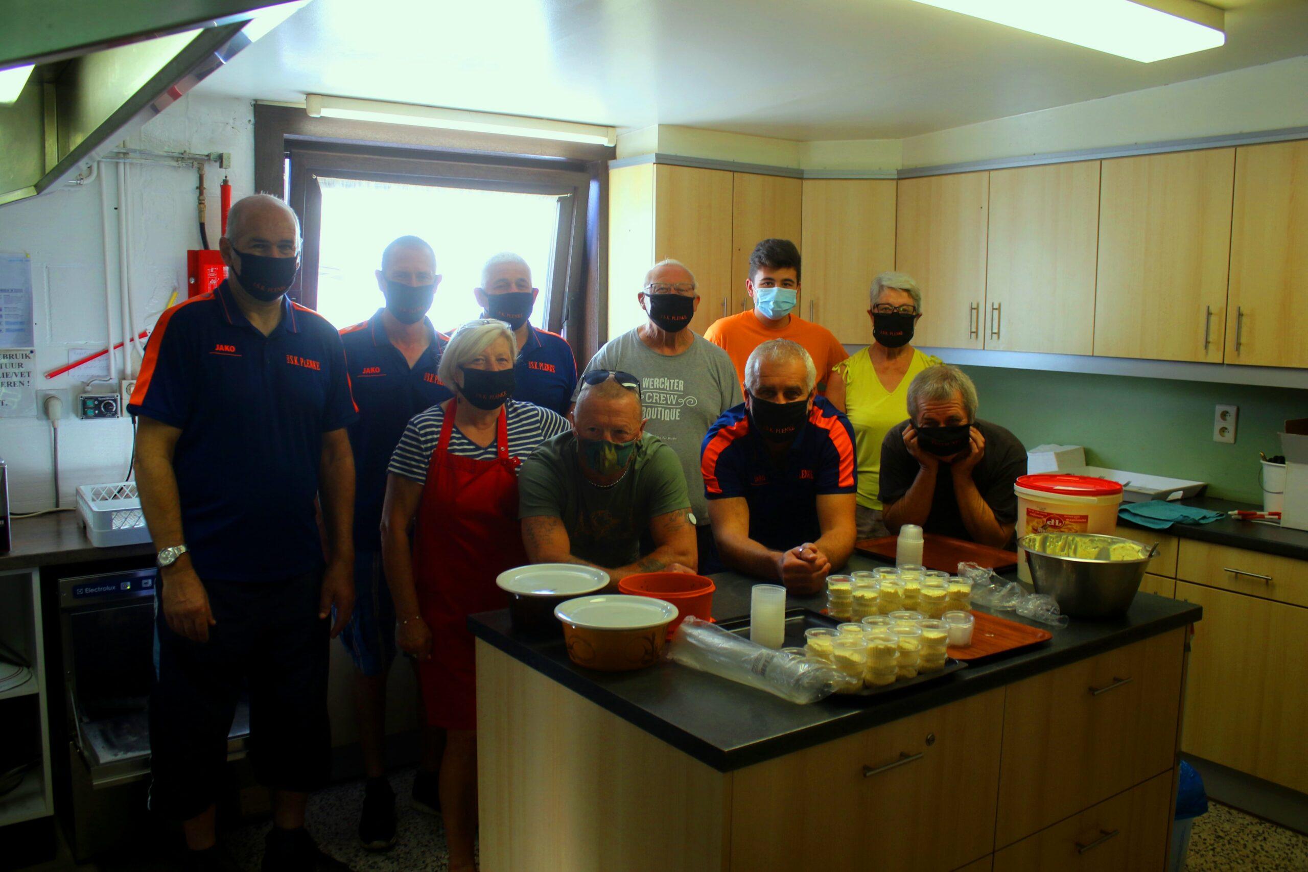 Keuken SK Plenke Werchter klaar voor eetdagen