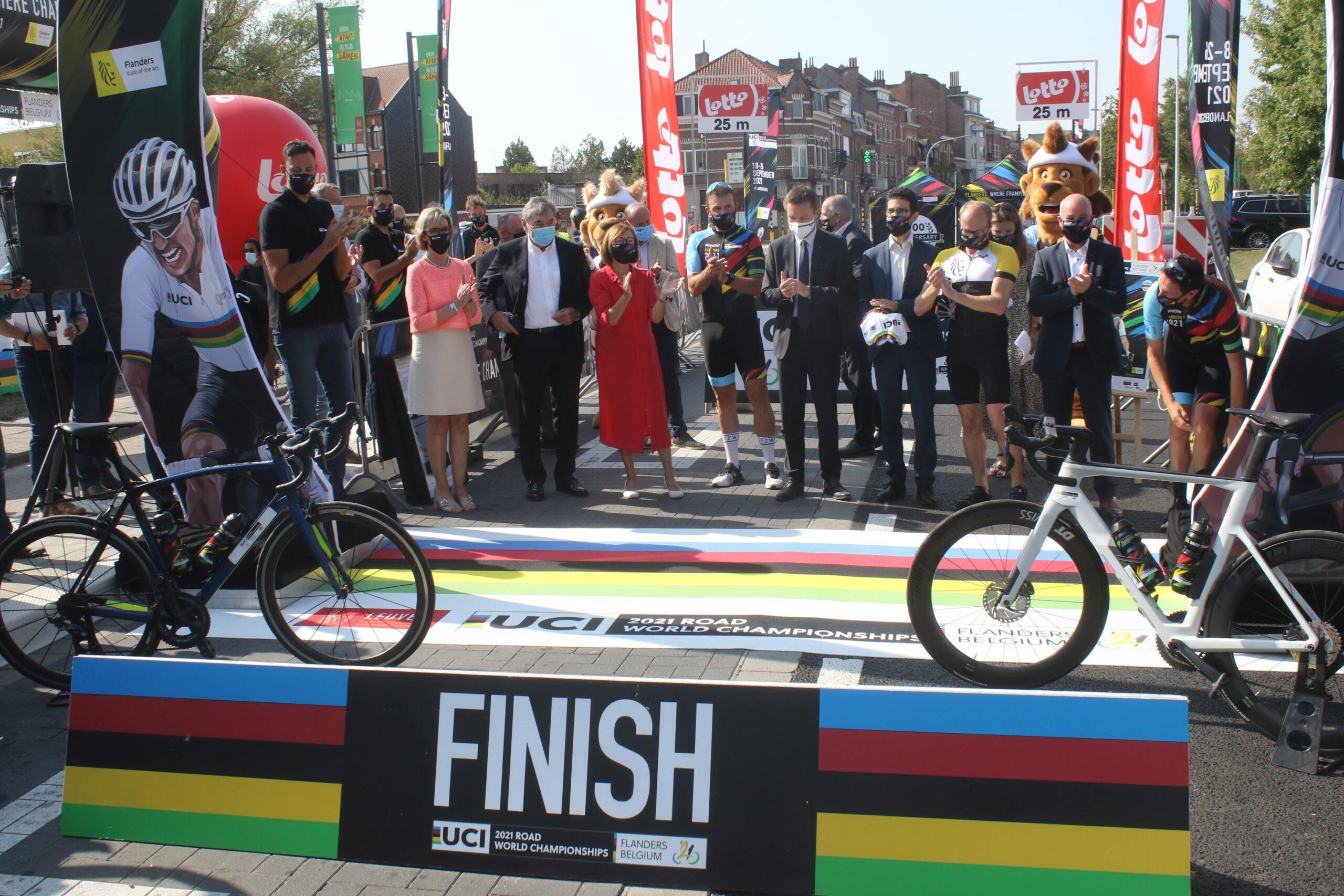 De wegritten vinden plaats van vrijdag 24 september tot en met zondag 26 september. Regiosport Honderdste Editie Wk Wielrennen In Leuven Onthuld