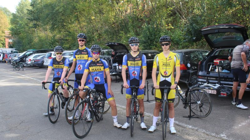 CT Glabbeek – Maes goed vertegenwoordigd in thuisrace