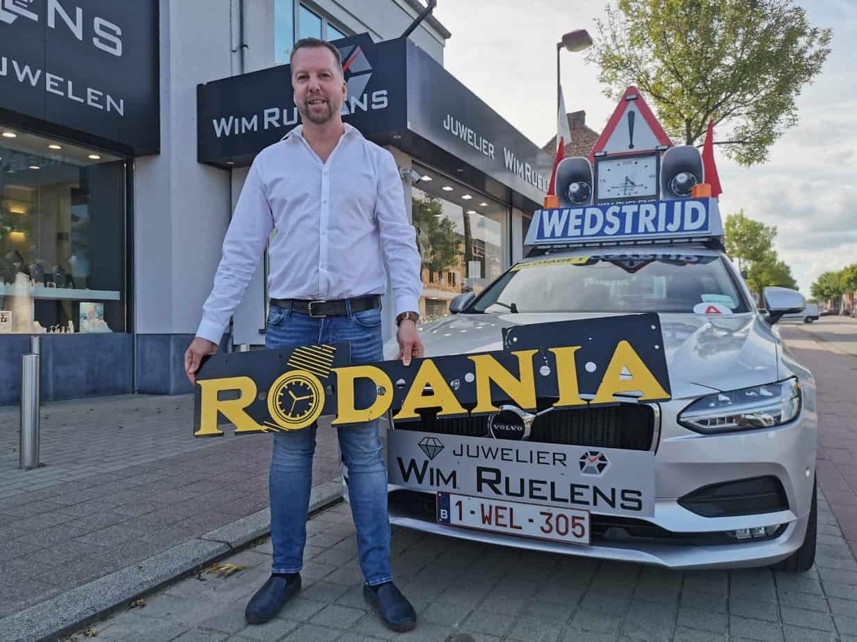 Wim Ruelens neemt Rodania opnieuw onder de arm