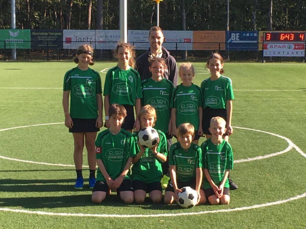 U12 KC Leuven brengen verplaatsing naar Vobako tot een goed einde