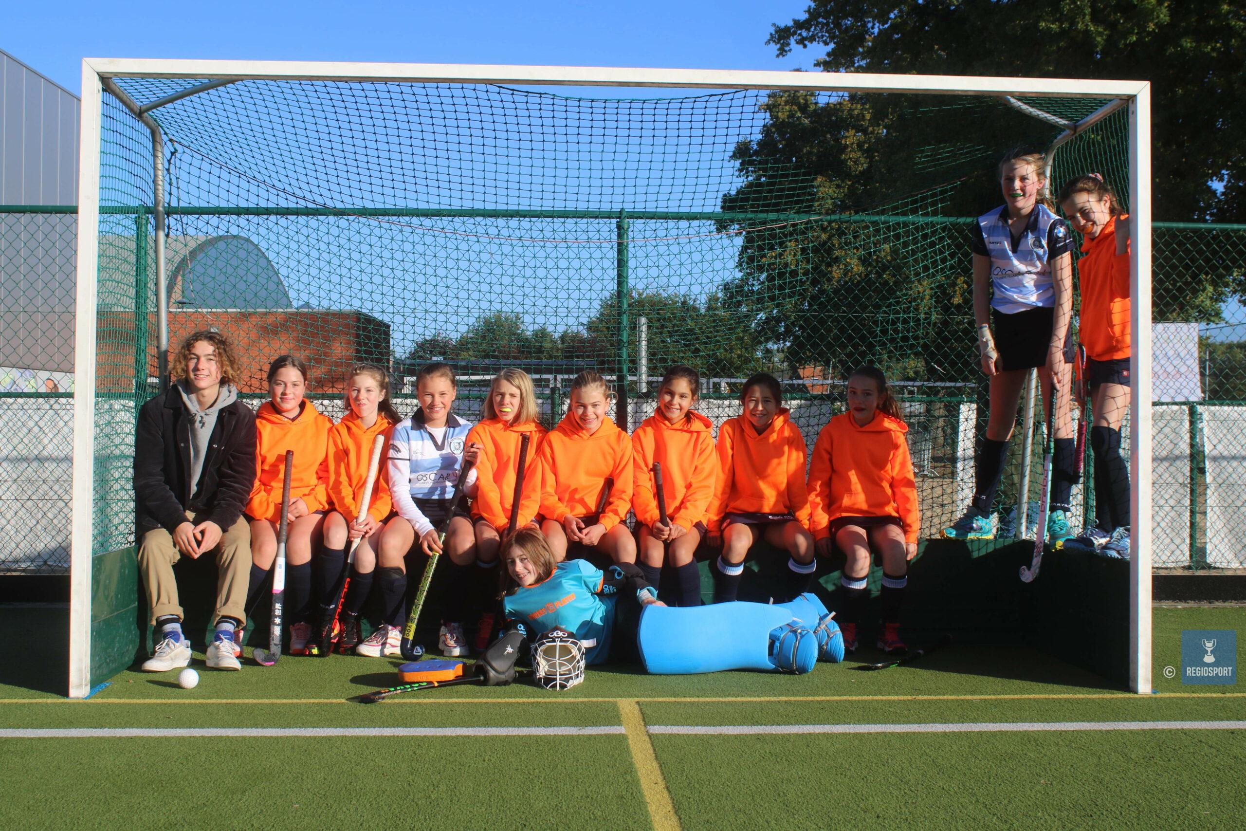 U12 girls Keerbergen Tigers verzorgen vlot spel