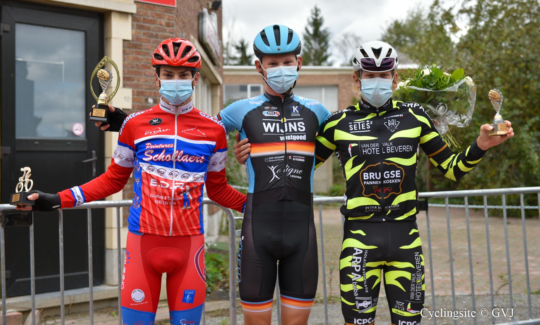 Nieuweling Milan De Ceuster beleeft goede repetitie voor BK in Nieuwrode.