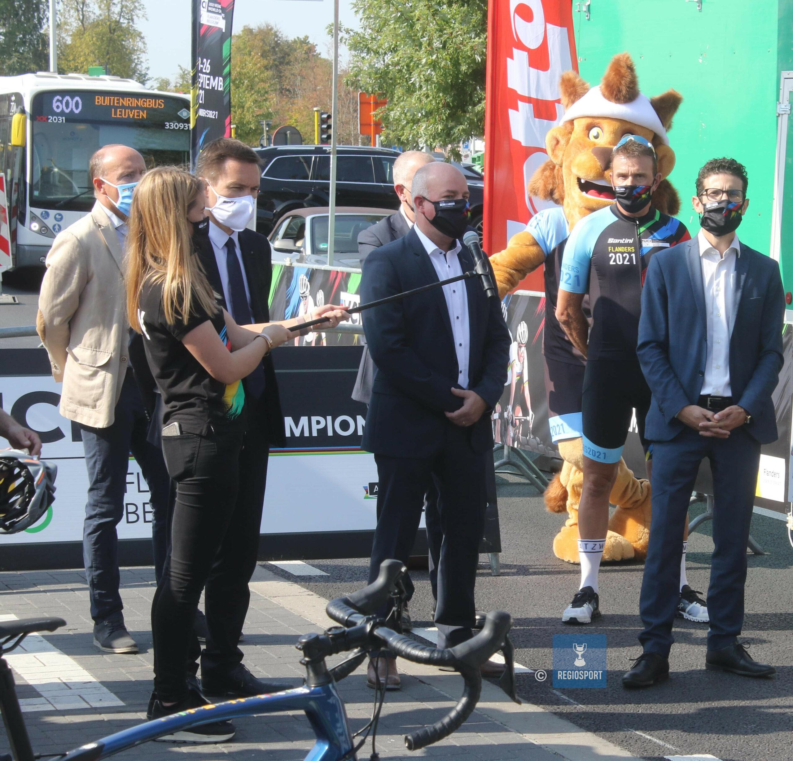 Deze zondag: het WK mountainbike eliminator in Leuven achter gesloten deuren