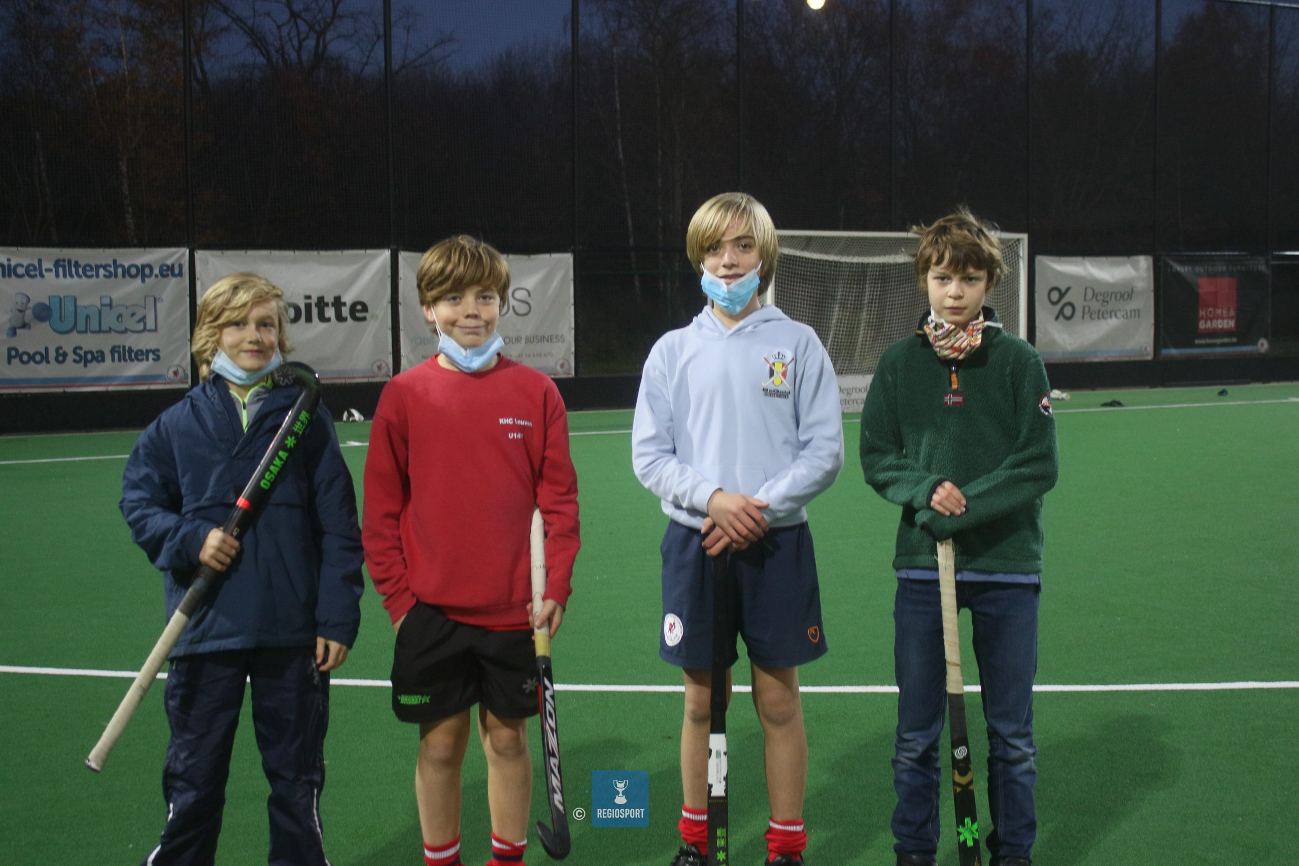 U14 boys KHC Leuven in the picture