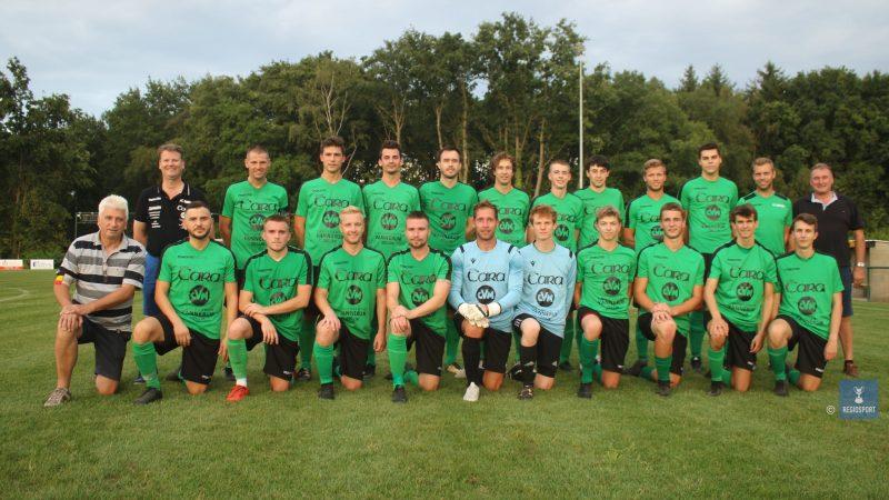 FC Binkom zit op schema