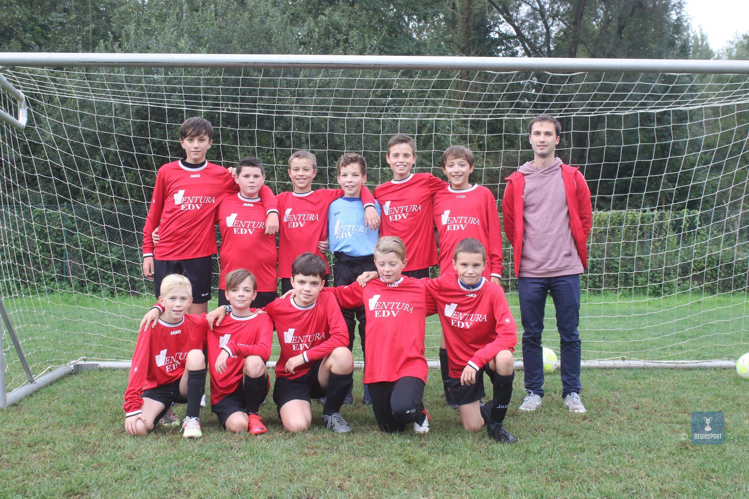U13 KRC Boortmeerbeek spelen al zes jaar samen