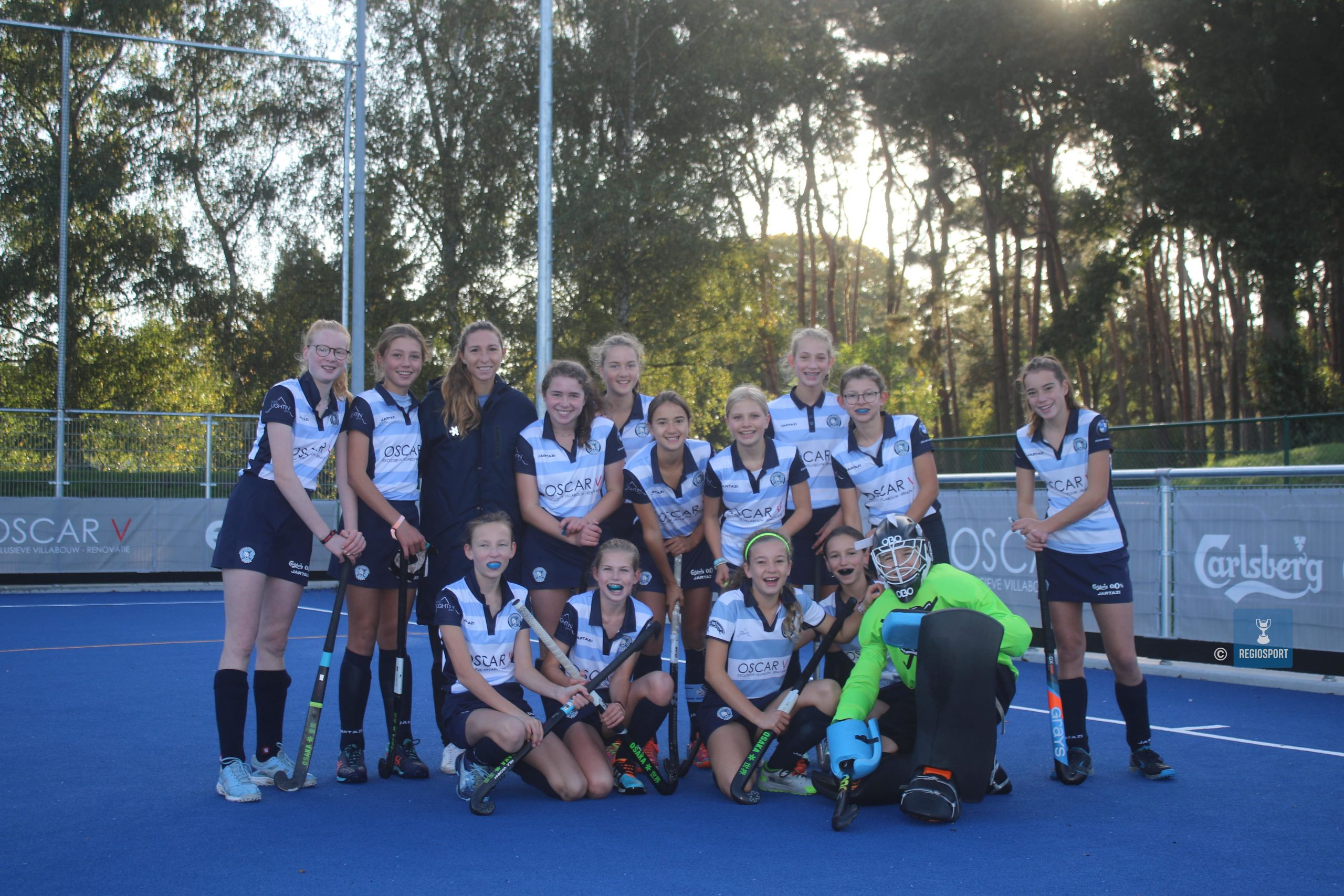 U14 girls Keerbergen Tigers gaan voor elkaar door het vuur