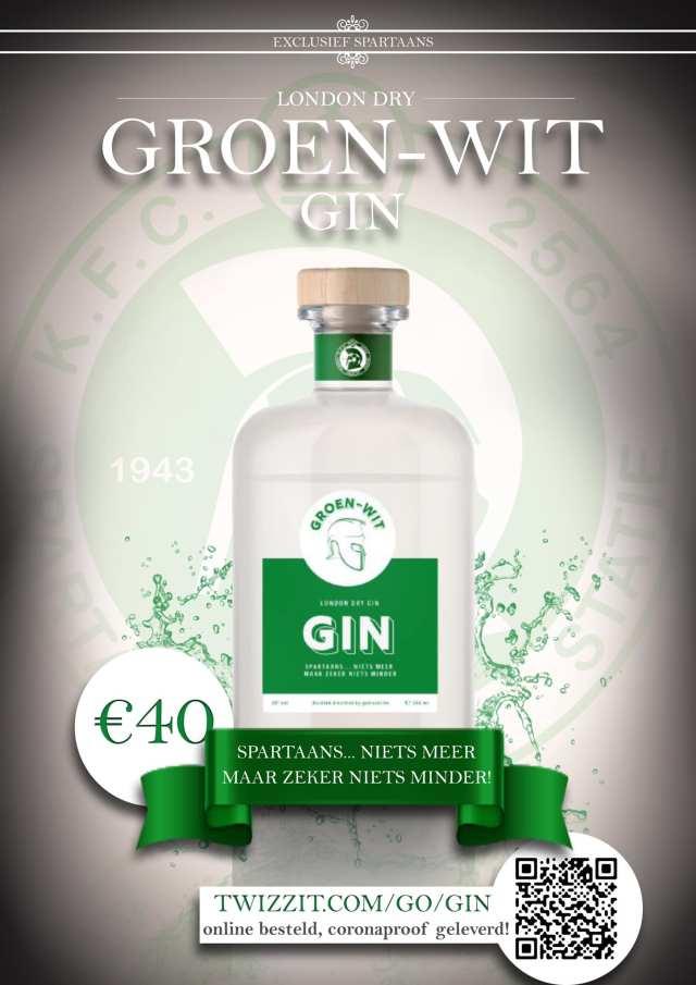 Sparta Haacht Statie presenteert de Groen-Wit Gin!