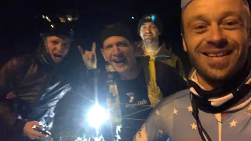 Seppe Odeyn voltooit zijn zevende werk! 151 kilometer lopen langs de Hagelandse grenzen in 14 uur en 9 minuten!