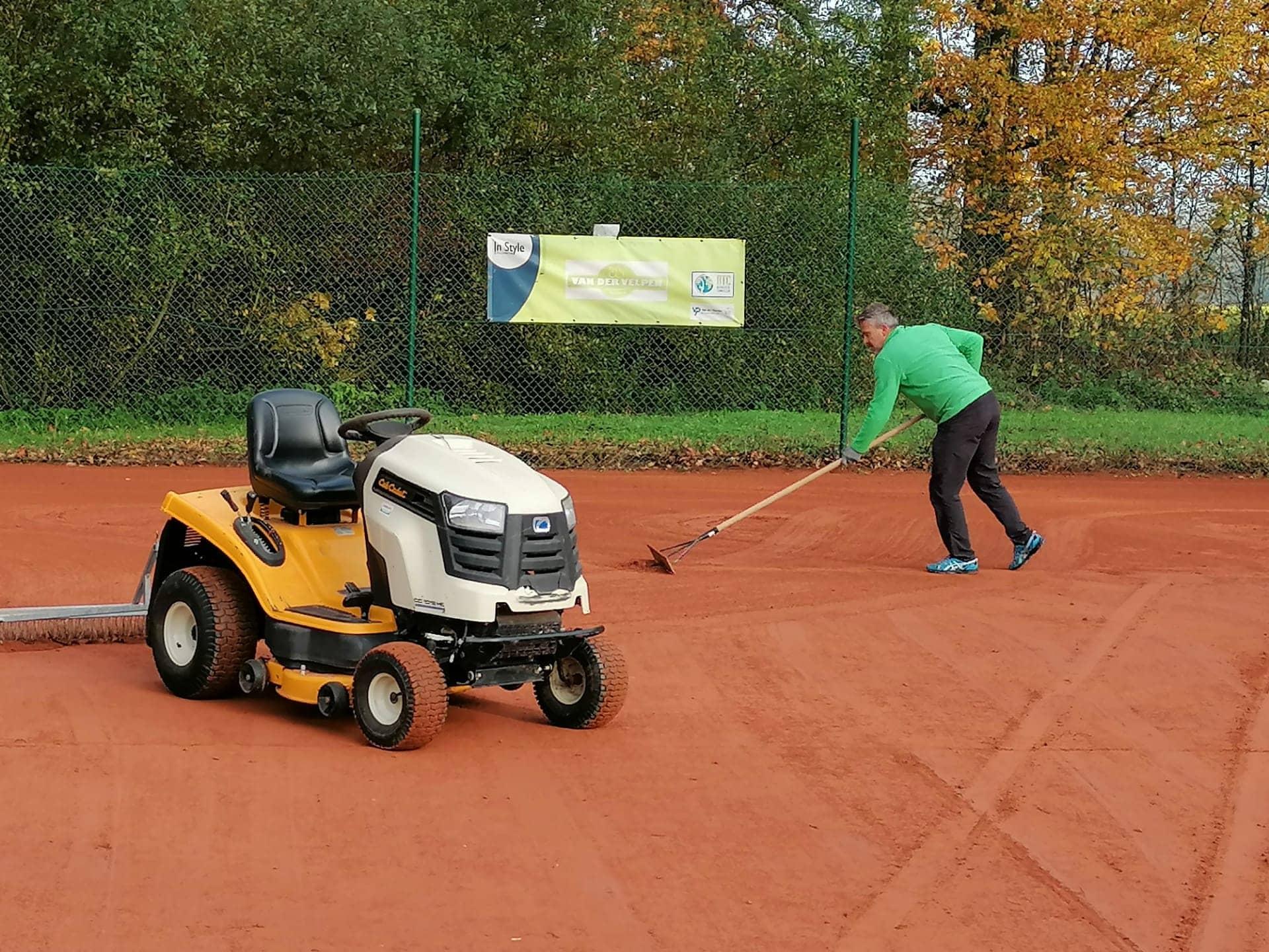 Bierbeekse Tennisclub innoveert op ecologische manier