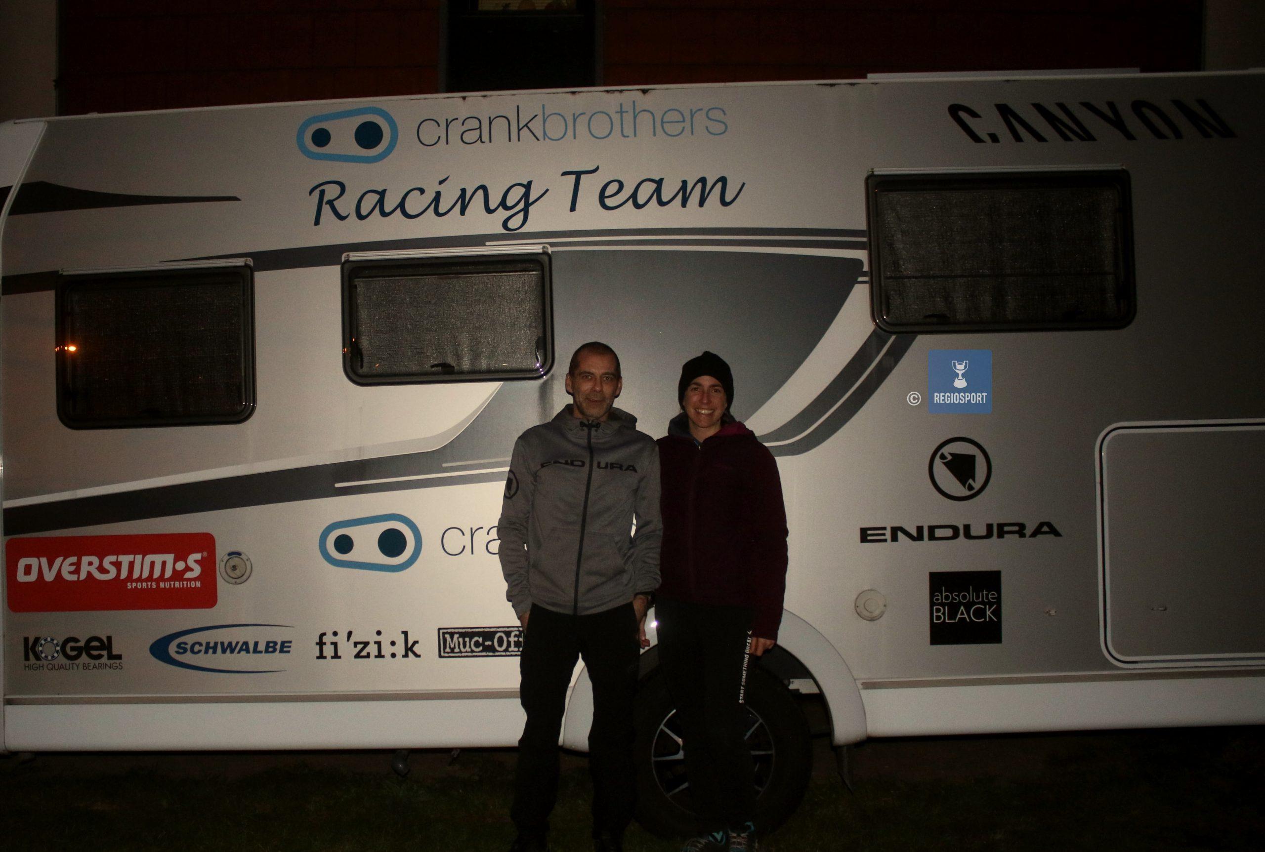 Het Crankbrothers Racing Team blijft trainen met het oog op betere tijden