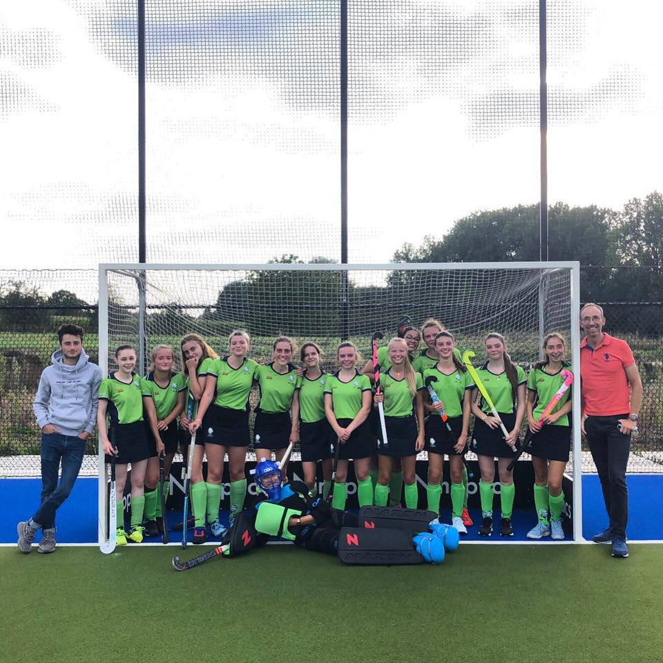 U19 girls Merode Hockey Grimbergen bezetten tweede plaats in hun reeks