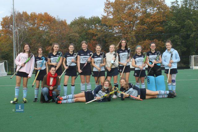 De U16 girls 2 van Stix Hasselt hopen op betere tijden