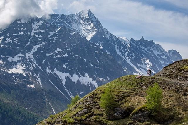 Aan mooie landschappen geen gebrek Foto: Raid Evolénard