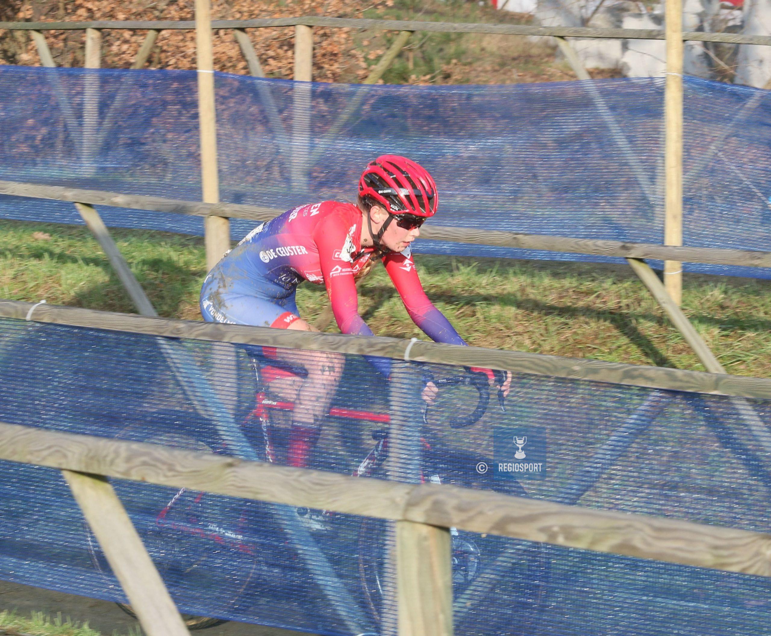 Julie Brouwers had graag nog langer in het veld gereden