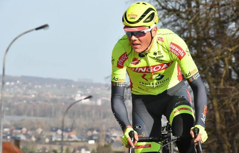 Mathijs Paasschens beloond voor zijn aanvalsdrift in Paris-Troyes