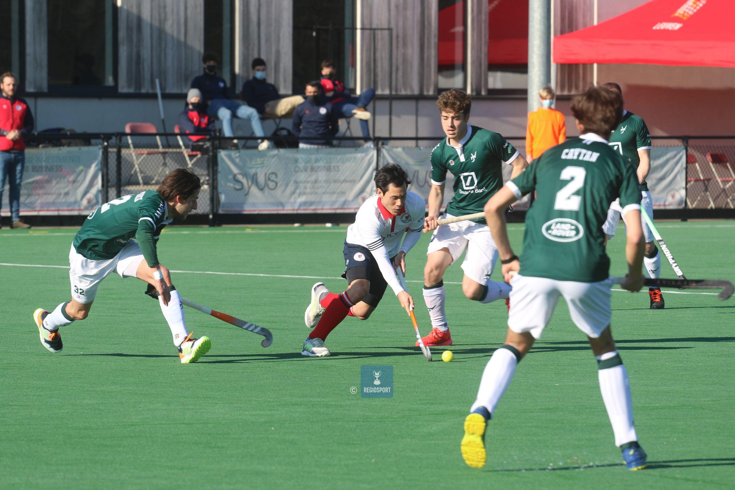 Waterloo Ducks gaan nipt winnen op KHC Leuven en doen goede zaak