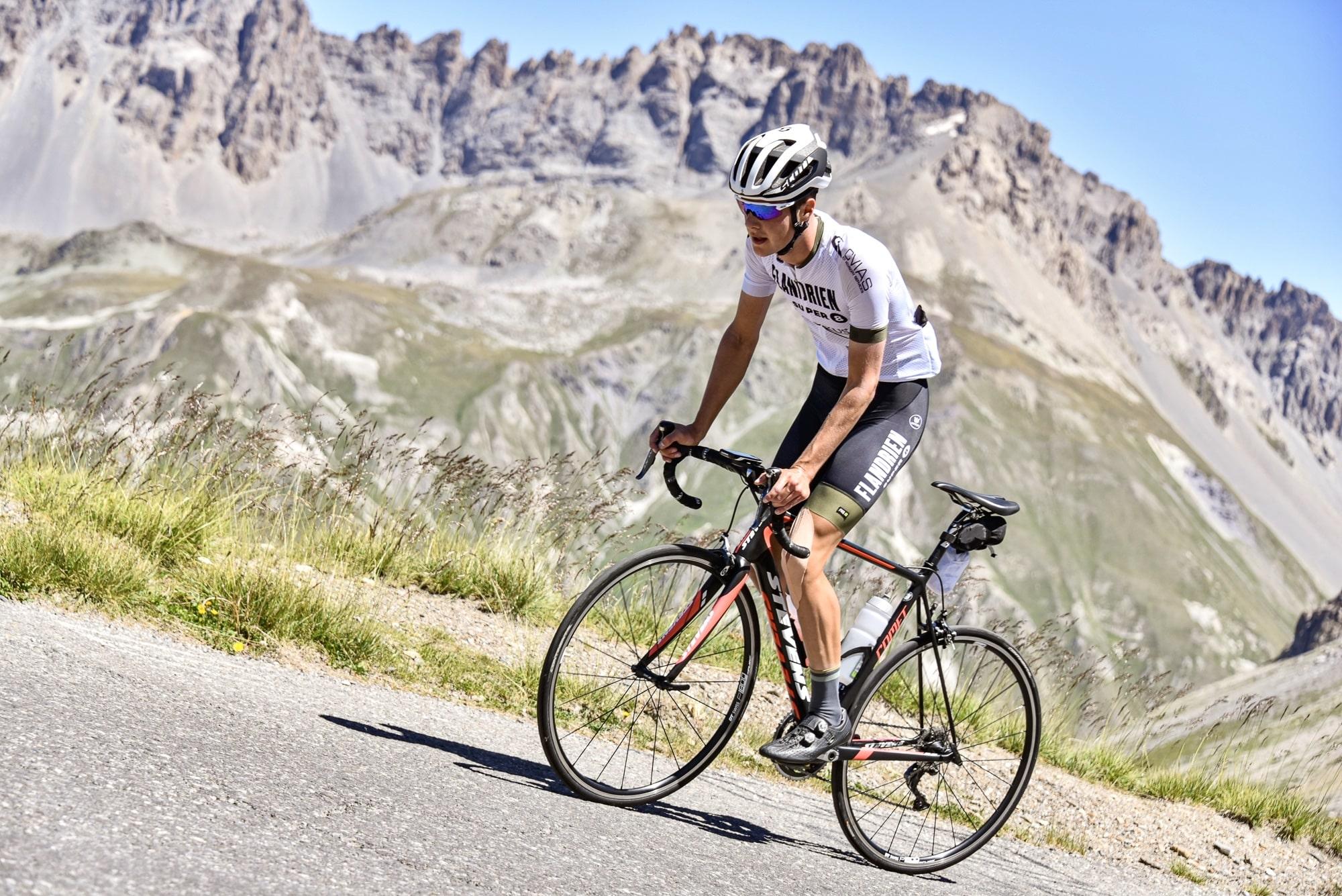 Oliver Delaey draait de koerspagina om en richt zich op mountainbiken