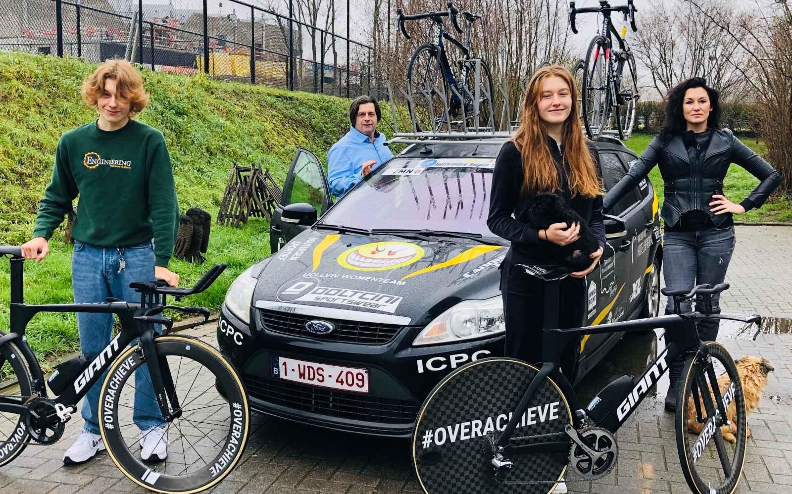 Gloria Van Mechelen zoekt haar weg tussen de vrouwelijke elite