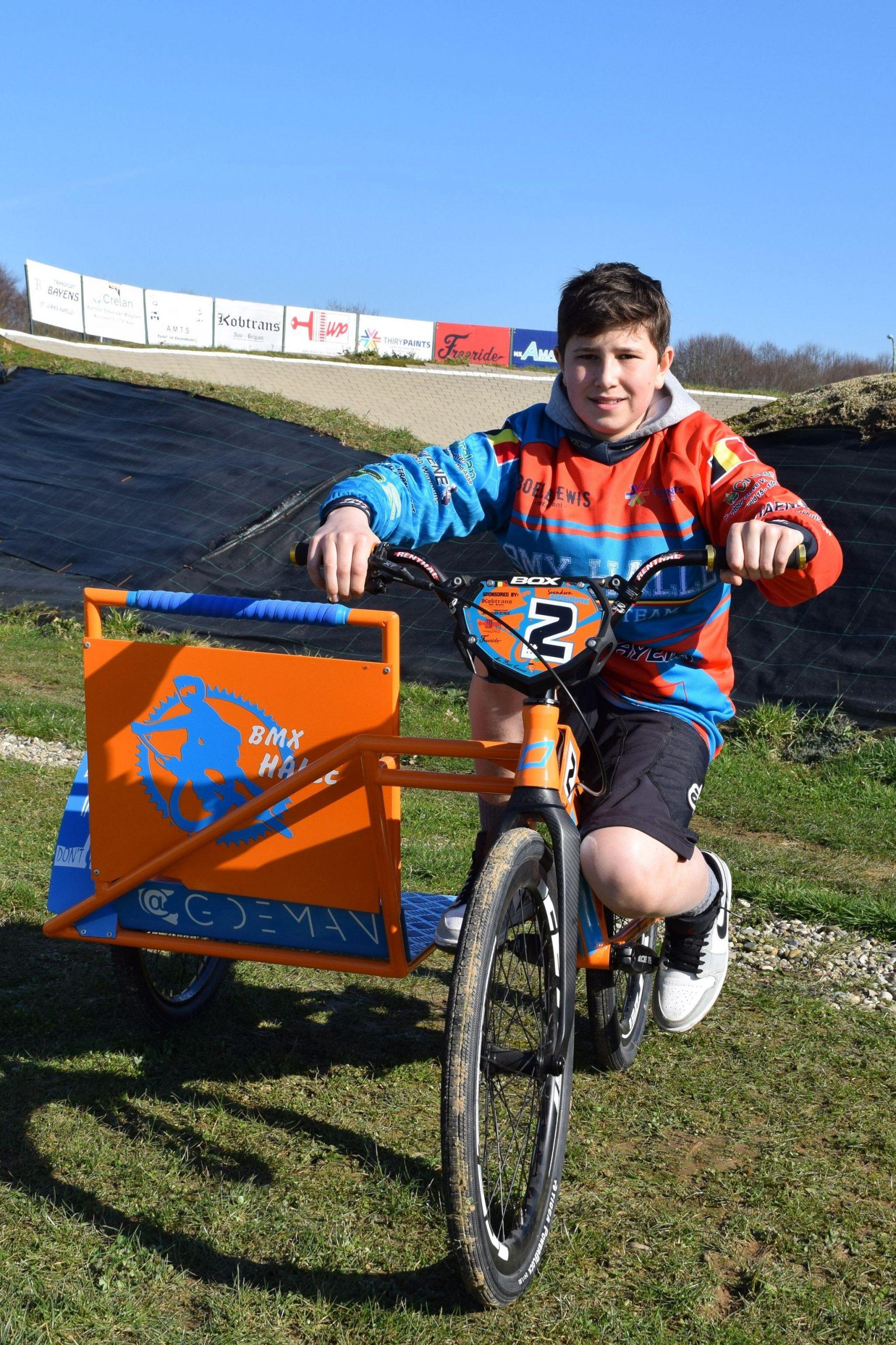 BMX'er Ignace Simons wilt finales halen