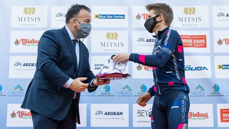 Regelmatige Stan Van Tricht eindigt als derde in de vierdaagse International Tour of Rhodes