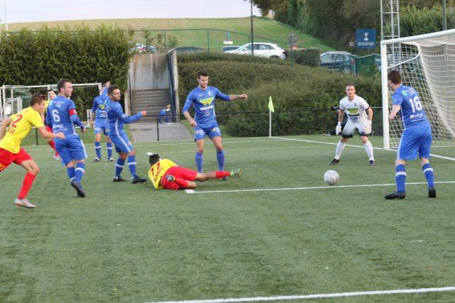 Van Acker in actie tegen AFC Tubize