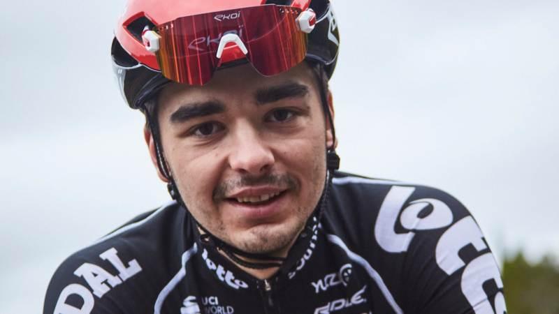 Kobe Goossens wilt na de bergtrui in de Ronde van Romandië ritwinst in de Giro
