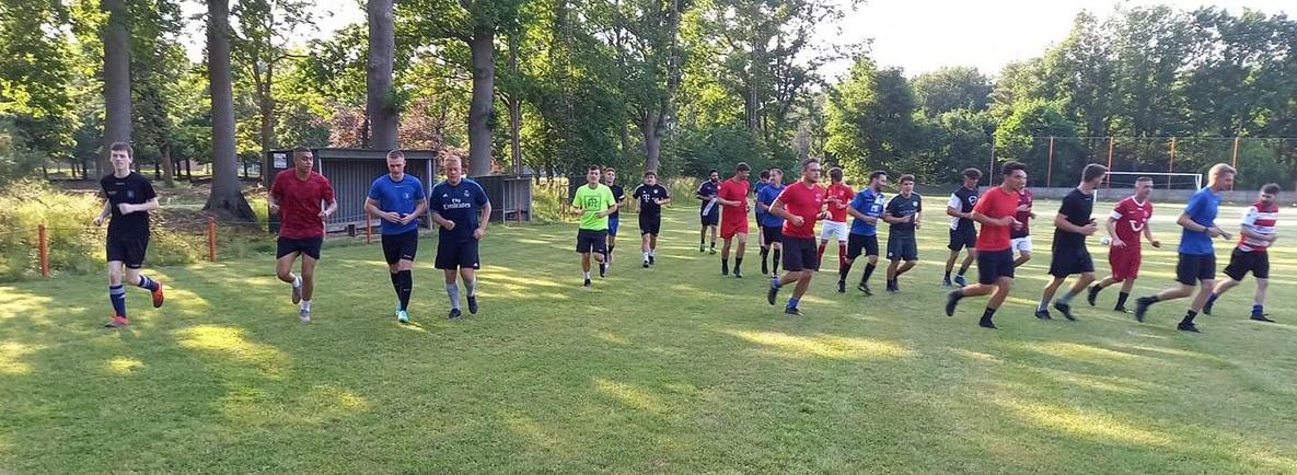 Sparta Schaffen herbegint en zou graag op één vaste locatie trainen!