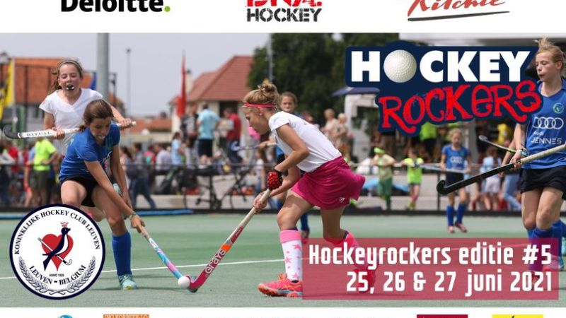 Vijfde editie Hockeyrockers van KHC Leuven op 25, 26 en 27 juni!