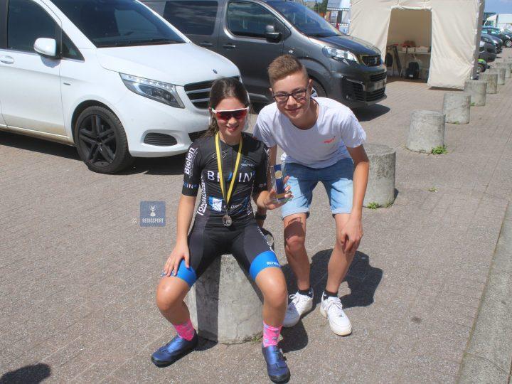 Alizée Bosmans pakte zilver op haar provinciaal kampioenschap