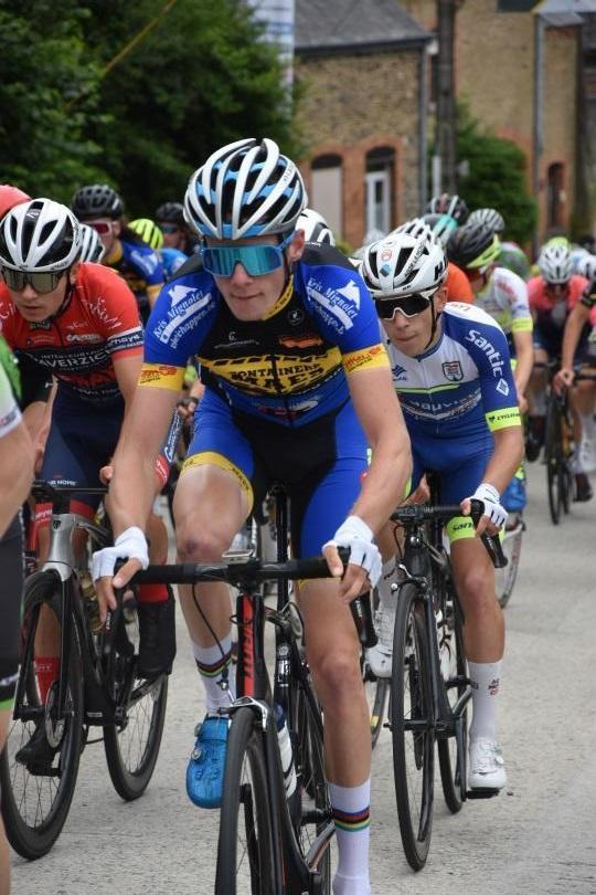 Junior Dries Verstappen op één na beste in klimkoers Herbeumont