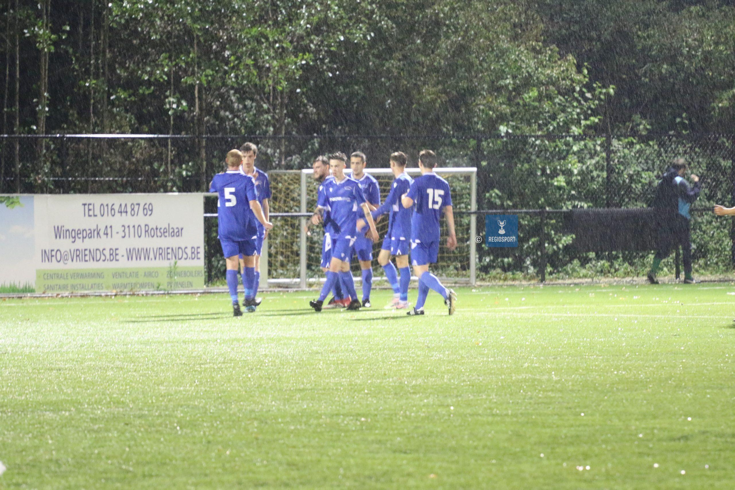 Racing Butsel – FC Binkom 3-0, Butsel bracht meer gevaar