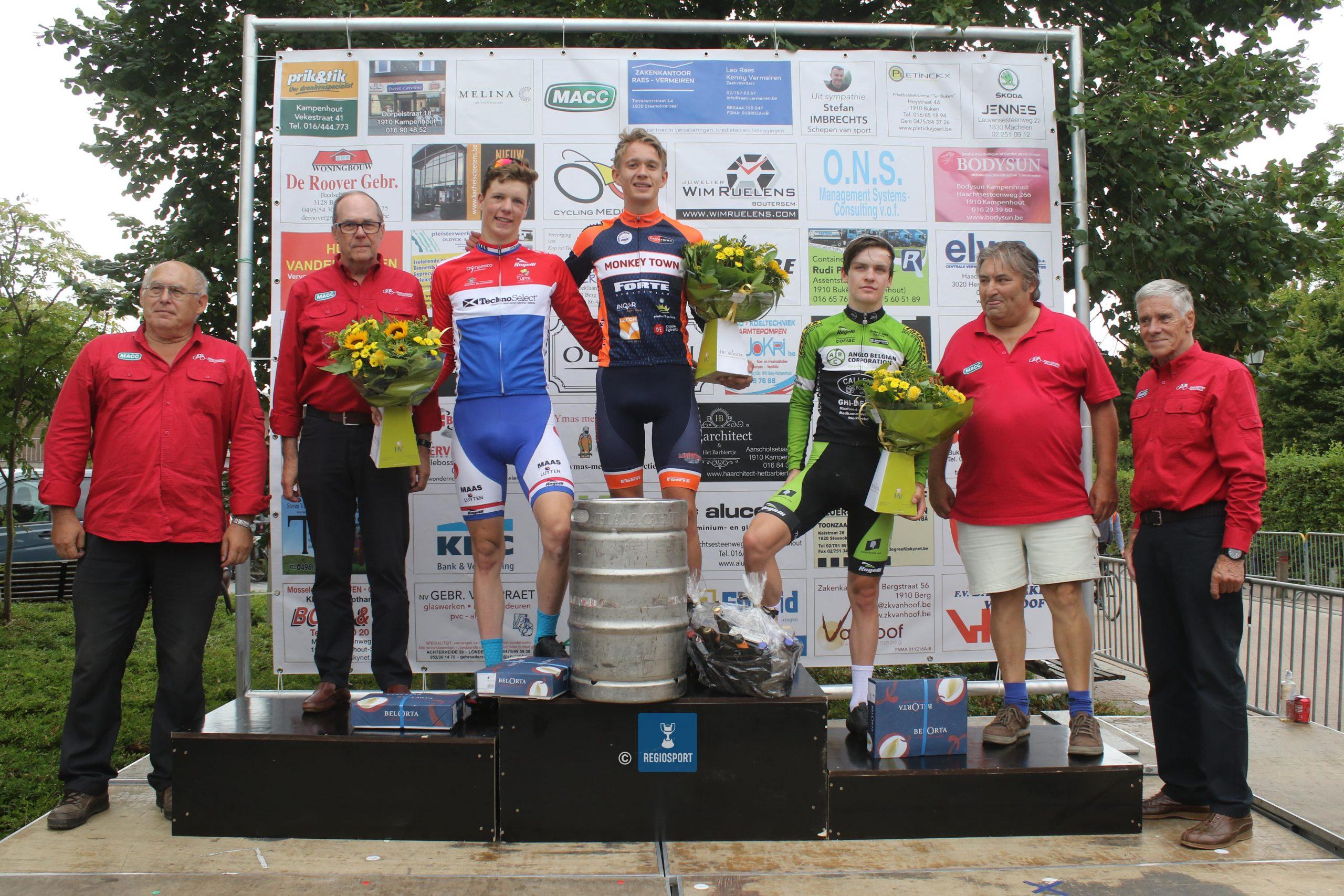 Wie wint de zevende editie van de GP Roger De Coninck in Berg-Kampenhout?