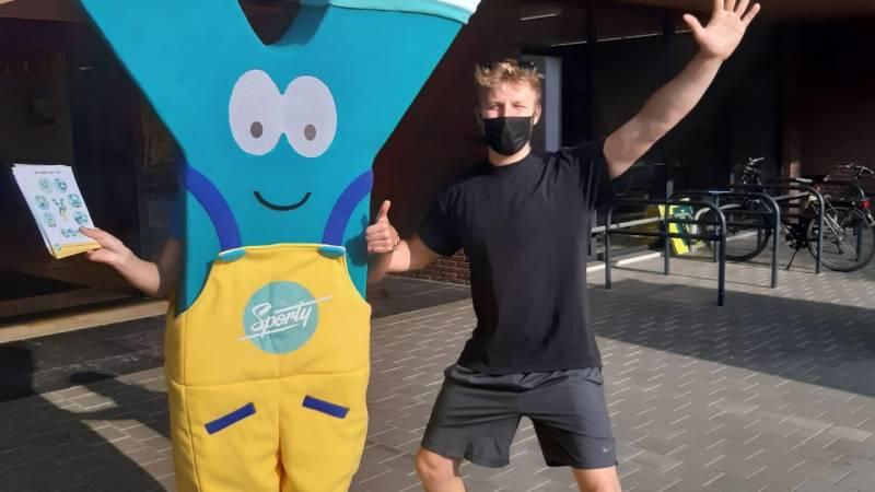 Sporty wil deze zaterdag met 'Ypie' kinderen een levenslange sport- en bewegingsparticipatie aanleren.
