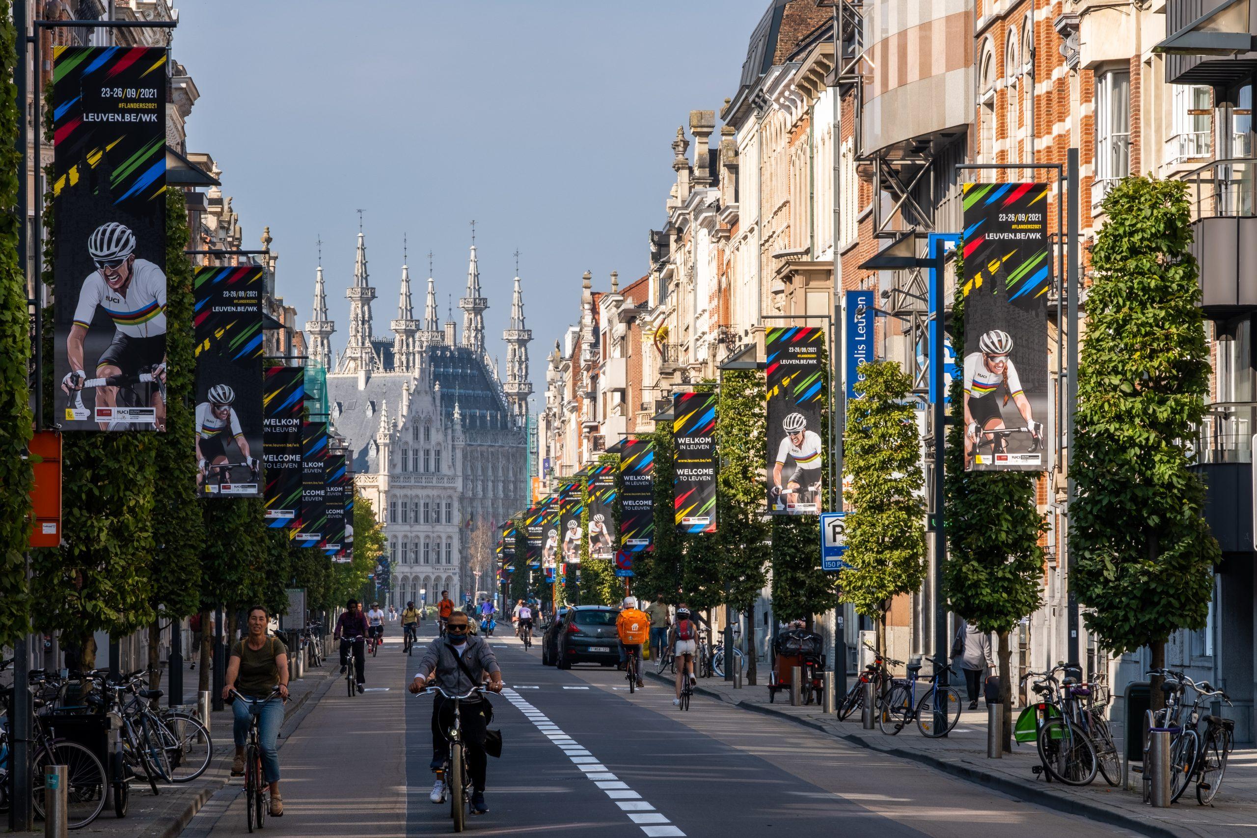 Leuven is klaar voor een spetterend WK wielrennen