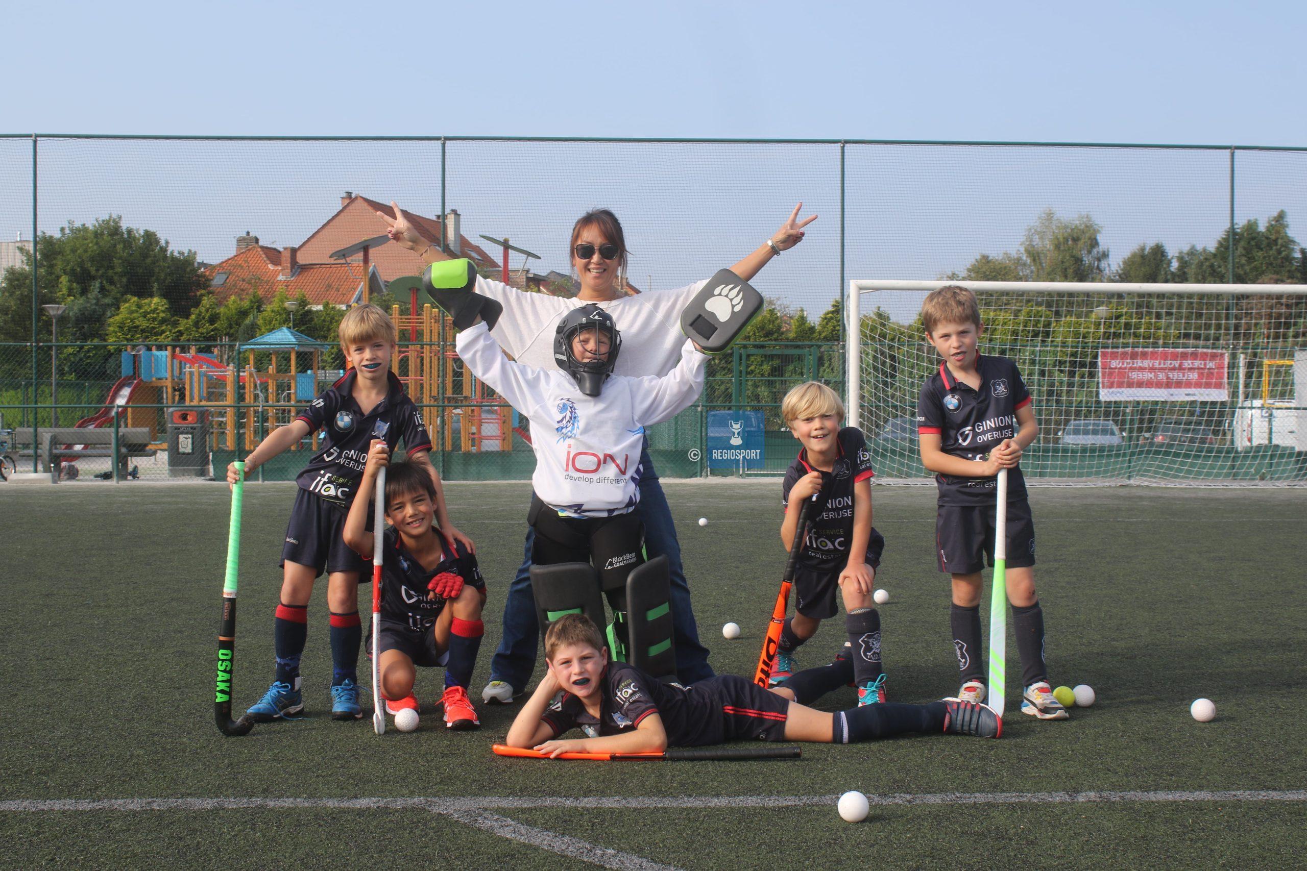 U9 boys 1 Blue Lions Tervuren hebben ambitieuze leuze!