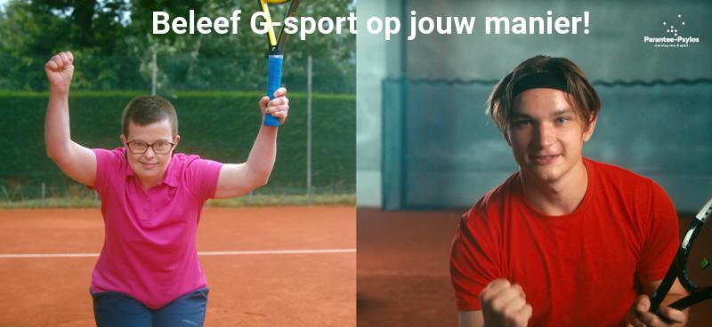 Kinderen en jongeren met beperking proeven samen met Paralympiërs van G-sport in Leuven