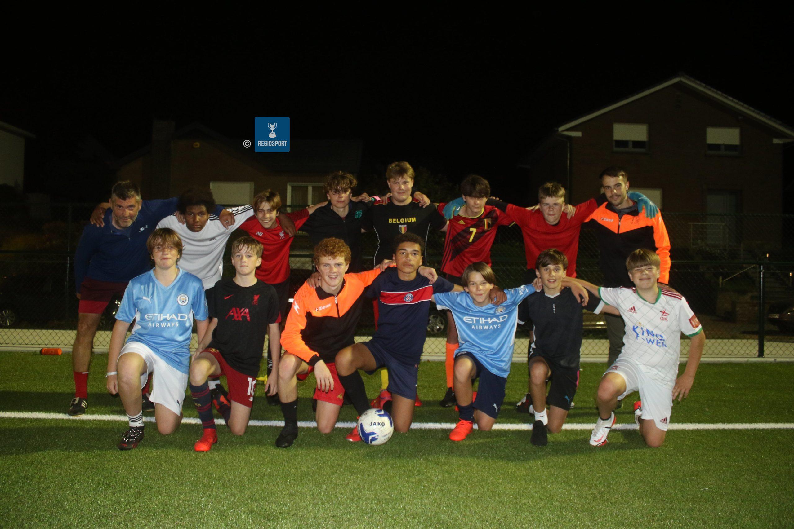 U15 A FC Moorsel speelt 6-6 gelijk op Woluwe-Zaventem