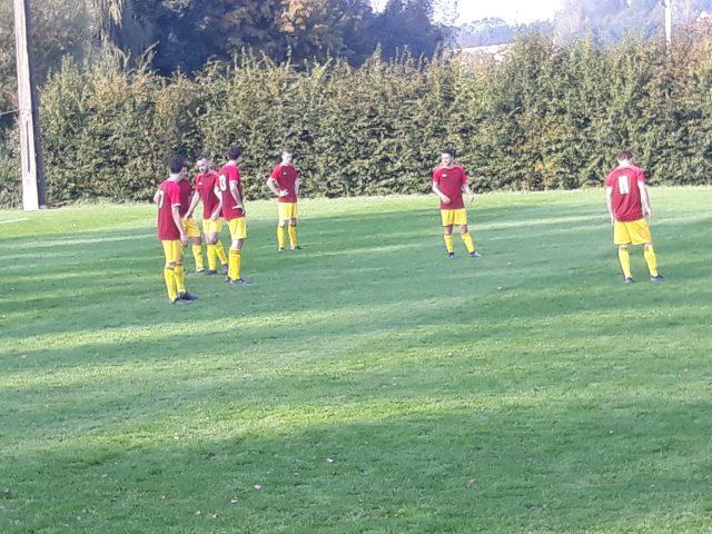FC Meensel-Kiezegem was er achteraan gerust in dat ze de nul konden houden Foto Geert Timmermans