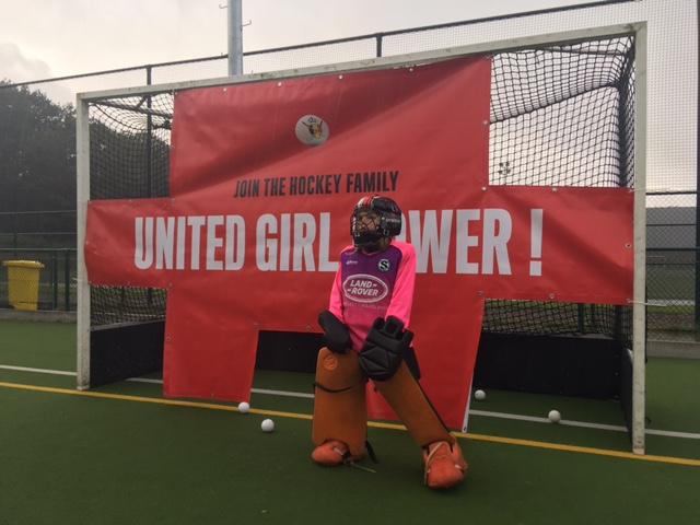 Zeventig hockeymeiden dagen op voor #Unitedgirlpower in Kiewit