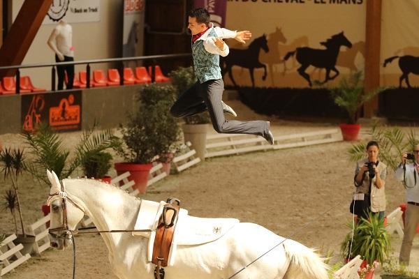 13-07-19 Voltige Équestre championnat de France à la Boulerie Jump N° 1