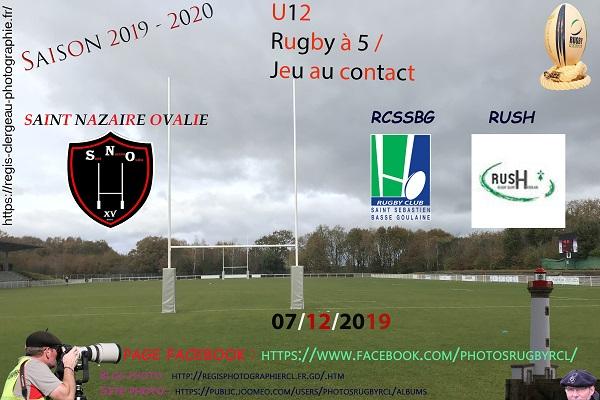 07-12-19 U12 Rugby à 5 RUSH – RCSSBG – SNO N°1 Pica